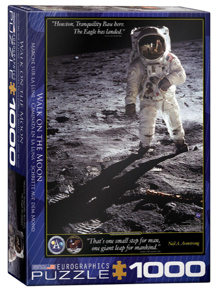 Walk on the Moon 1000 Puzzle