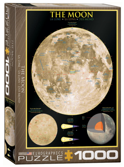 The Moon 1000 Puzzle