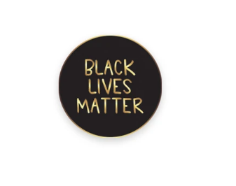 Black Lives Matter Enamel Pin