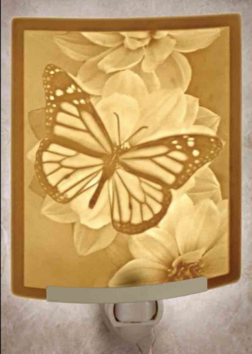 Butterfly Porcelain Nightlight
