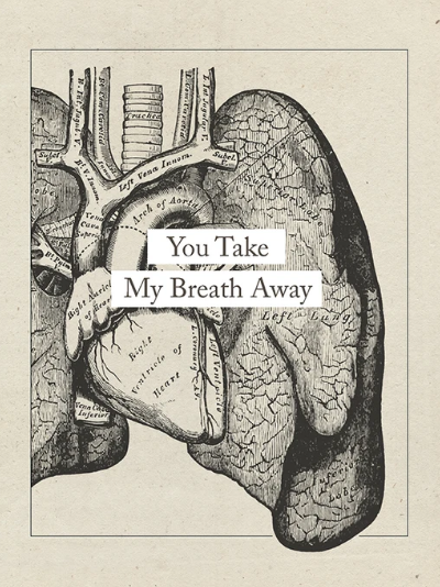 You Take My Breath Away Greeting Card