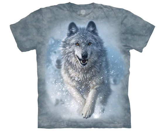 Running Wolf T-shirt (Adult)