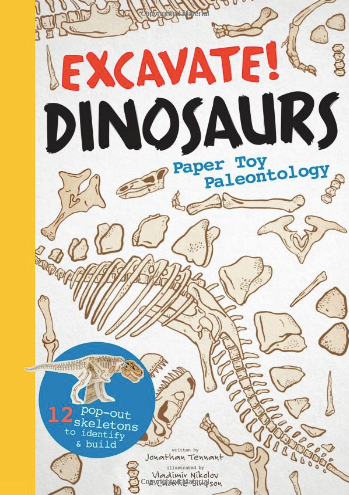 Excavate! Dinosaurs Paper Toy Paleontology