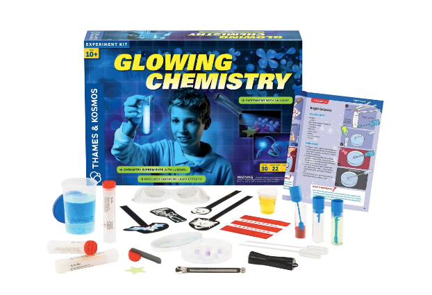 Glowing Chemistry Experiment Kit