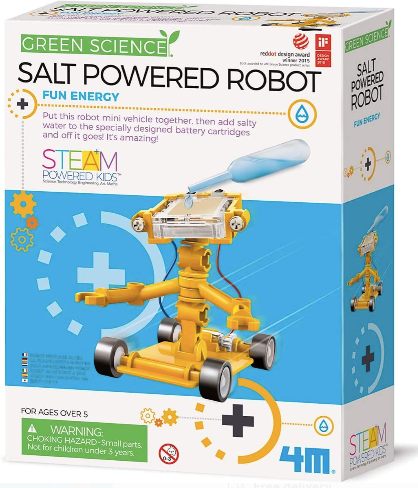 Green Science: Salt Powered Robot