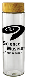 Science Museum of Minnesota Glass Water Bottle