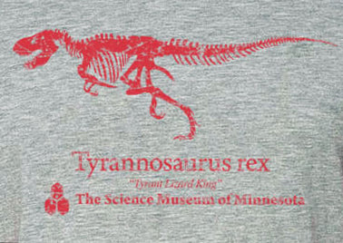 T-rex 3/4 Sleeve Shirt (Adult)