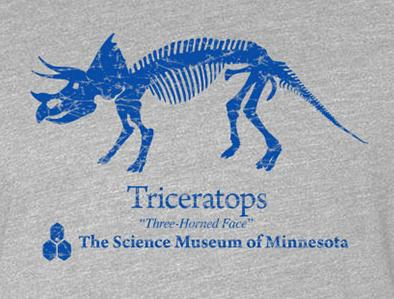 Triceratops T-Shirt (Youth)