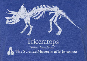 Triceratops Fitted Jersey (Adult)