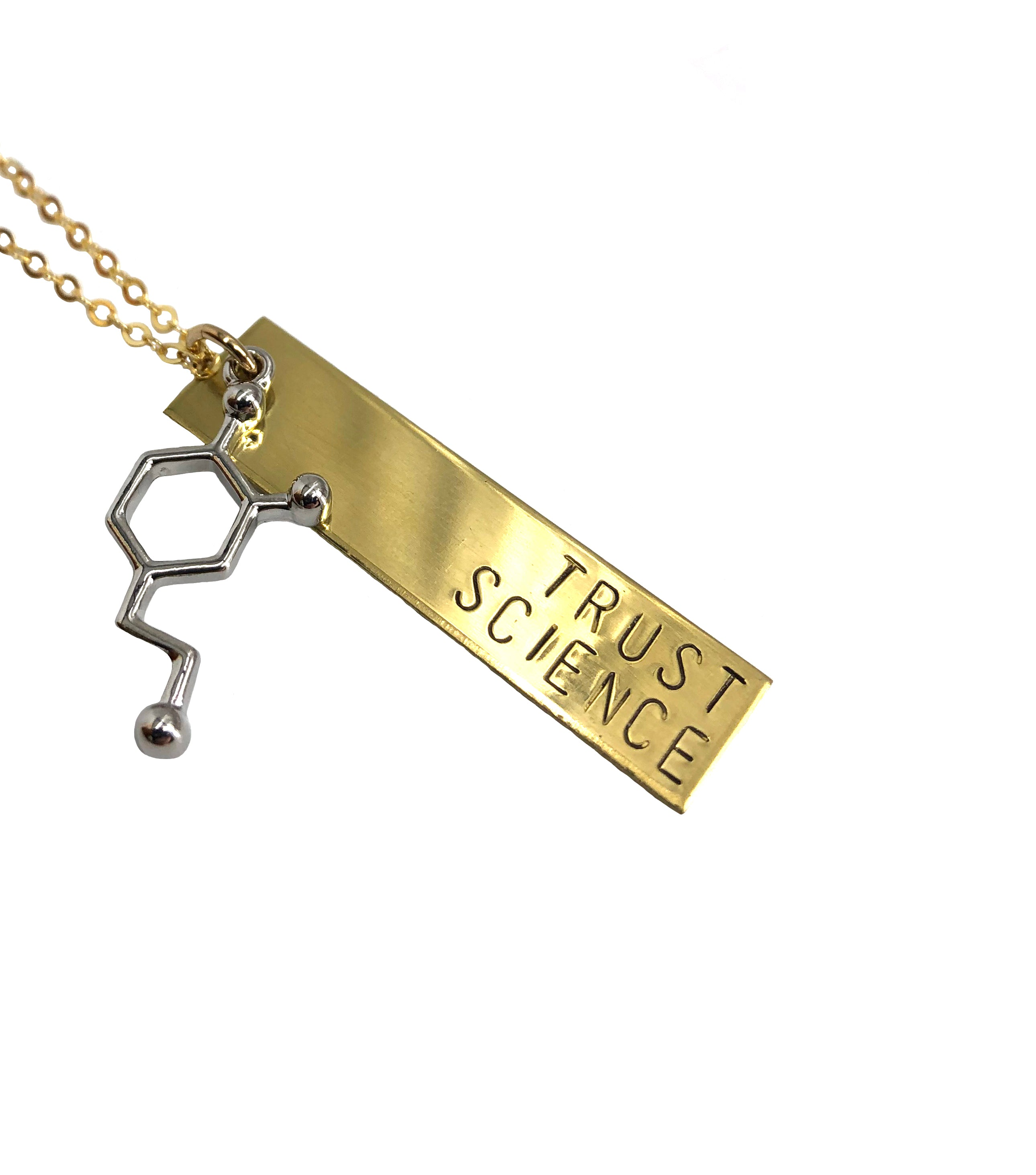 Trust Science Necklace