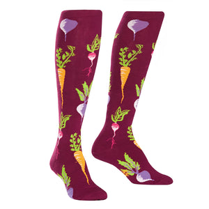 Turnip the Beet Knee High Socks