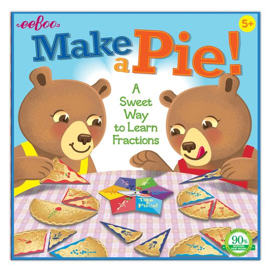 Make a Pie Game: A Sweet Way to Learn Fractions