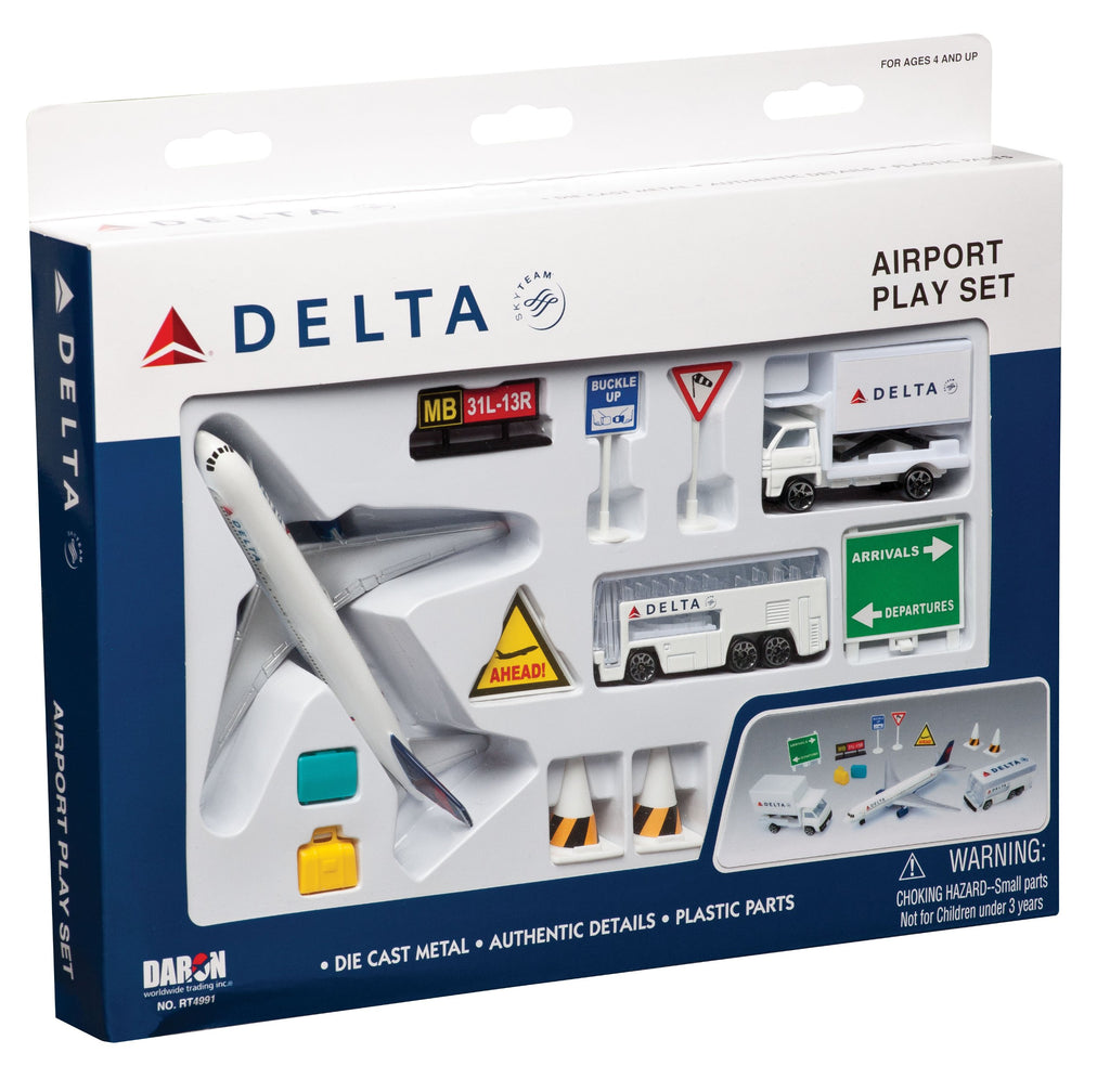 Delta Airport Playset- Small