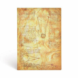 Paperblank: Da Vinci Softcover Journal
