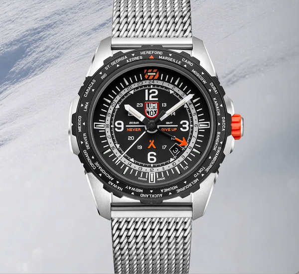 Luminox Rounds Out its Bear Grylls Survival Collection with New AIR Series GMT Watch