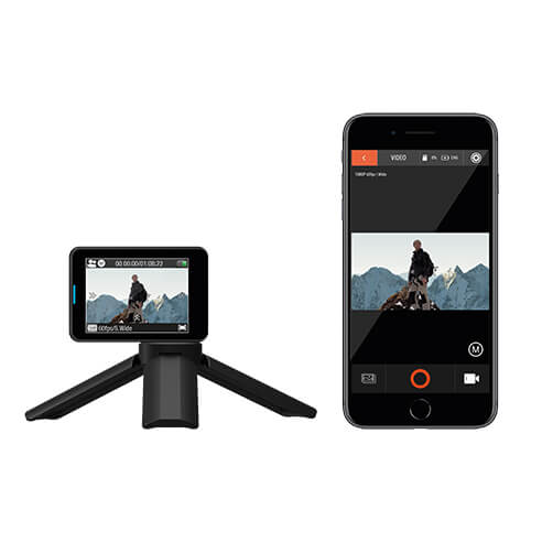 Use the app to navigate Bear Grylls HD Action Camera images