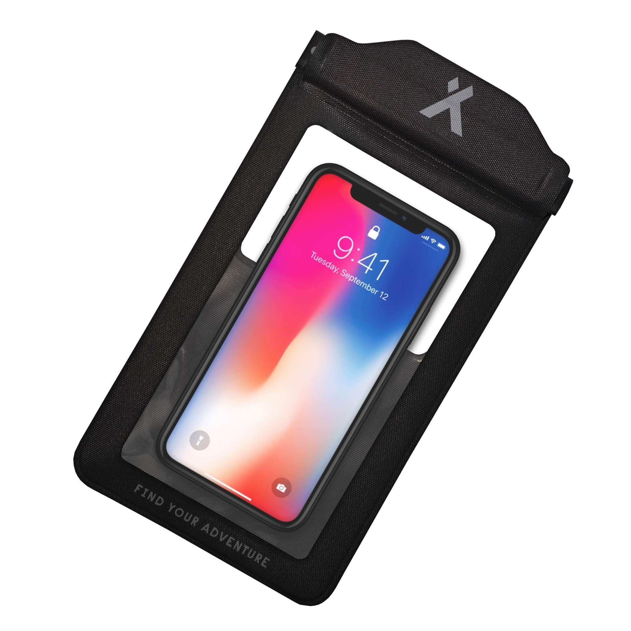 Touch screen window of the Bear Grylls Waterproof phone pouch