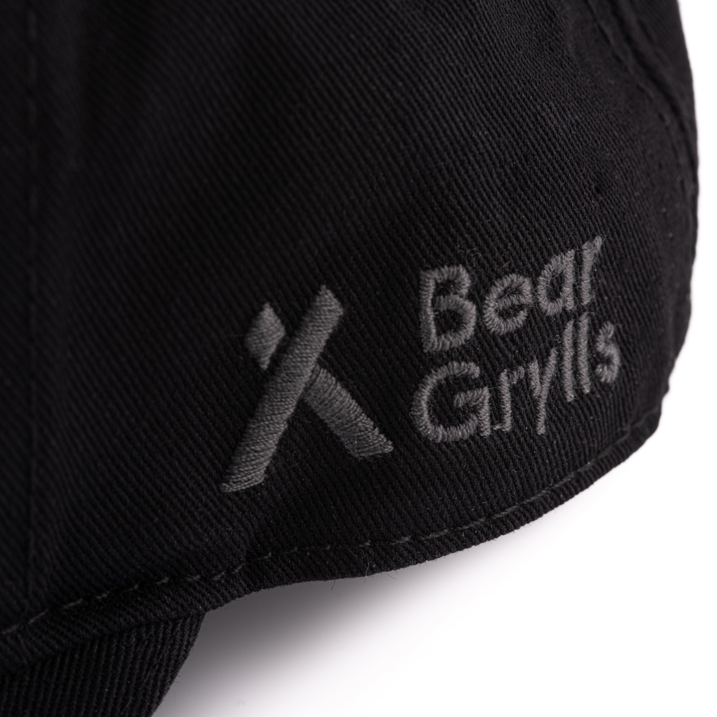 Bear Grylls Never Give Up Cap Detail