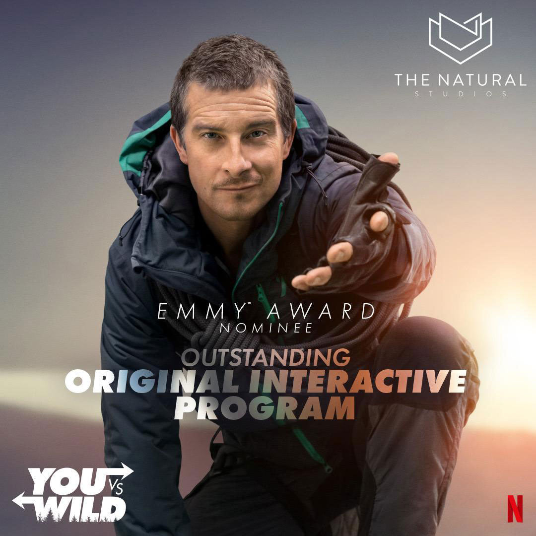Bear Grylls You Vs' Wild Emmy Nominated