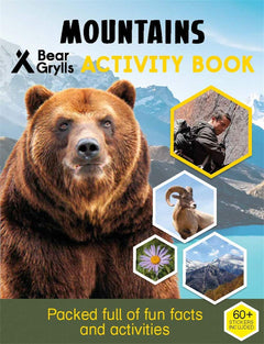 Mountains Activity Book