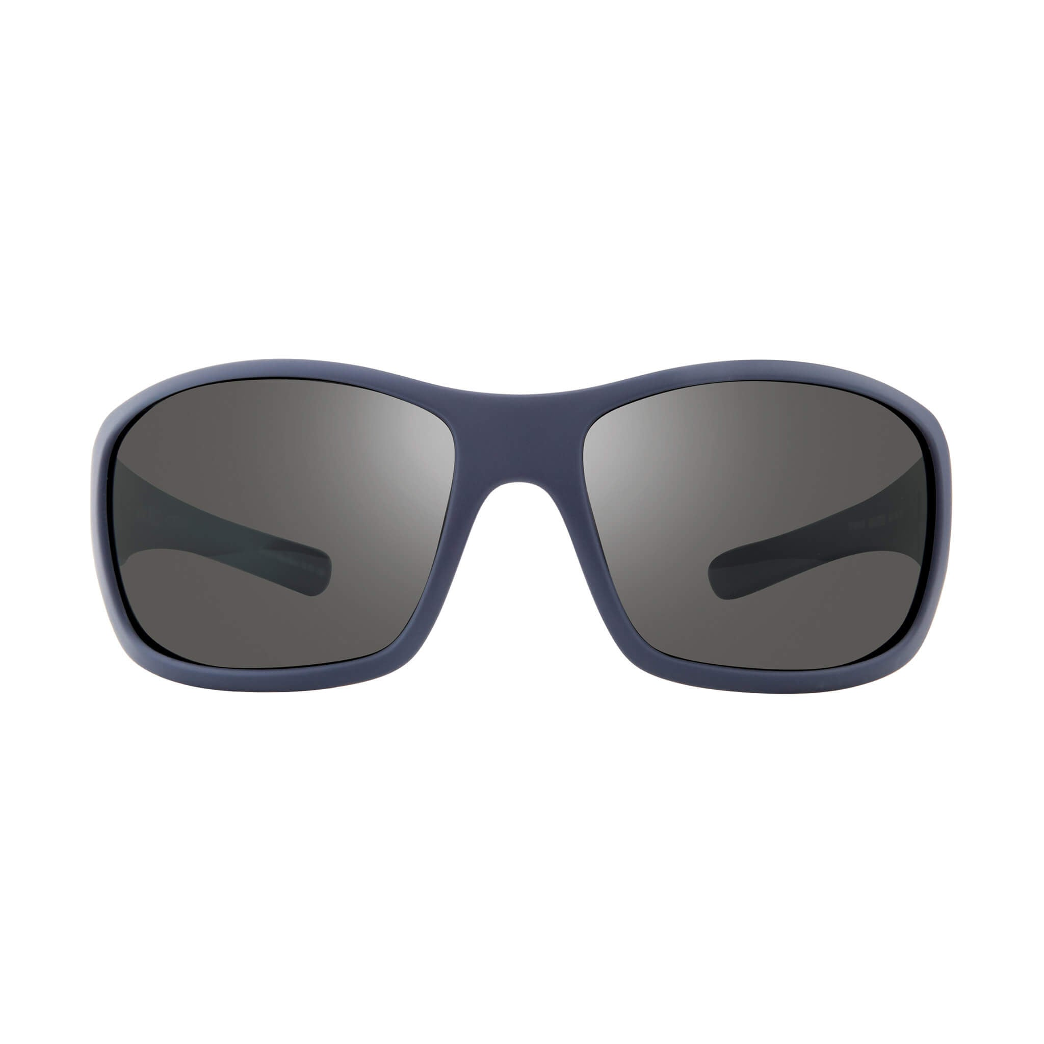 Maverick Blue + graphite lens:Front view of Bear Grylls Revo Blue with Graphite lens sunglasses