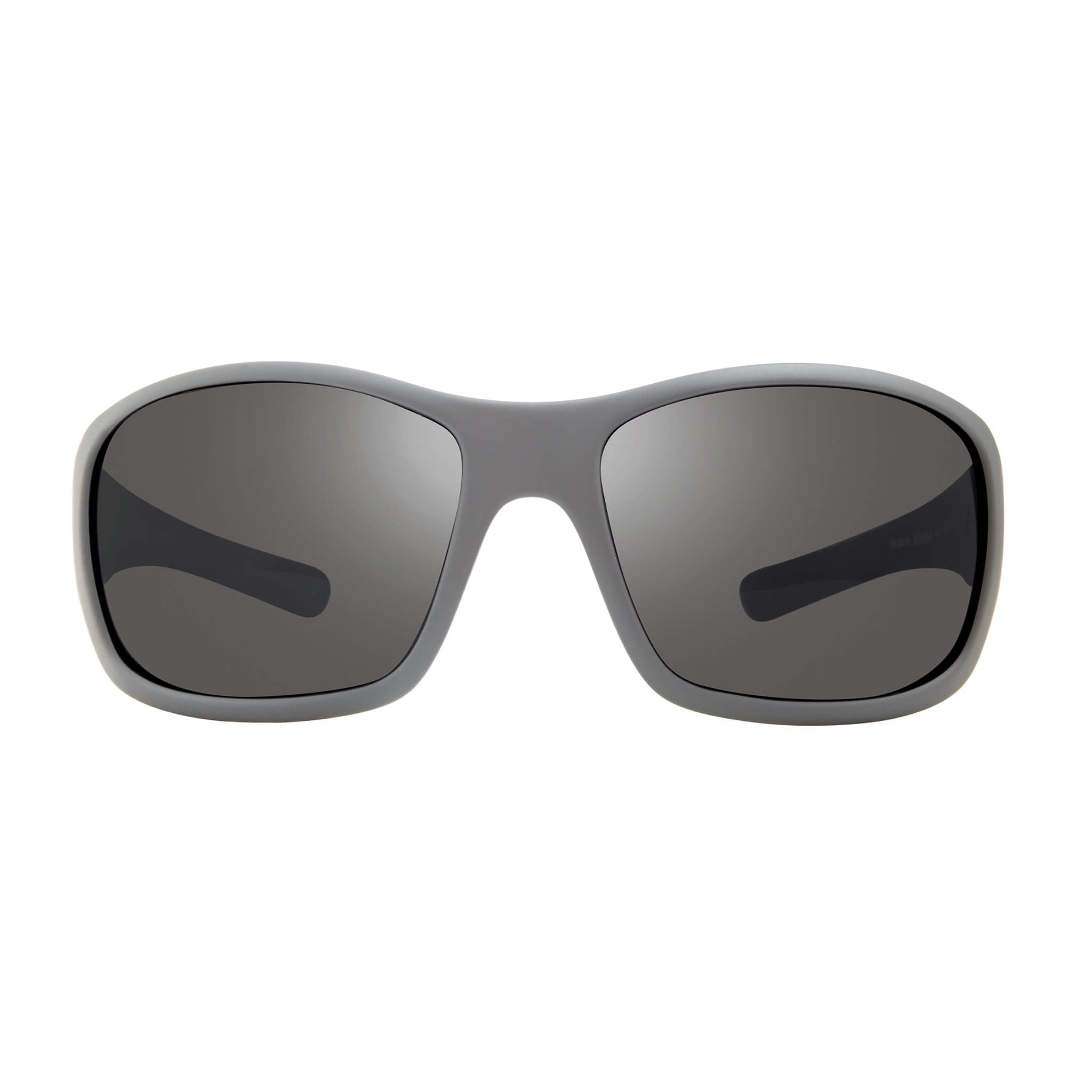 Maverick Matte graphite + graphite lens:Front view of Bear Grylls Revo Matte Graphite with Graphite lens sunglasses