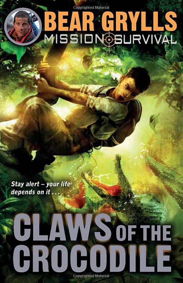 Bear Grylls Claws of the Crocodile Adobe Digital Edition Book