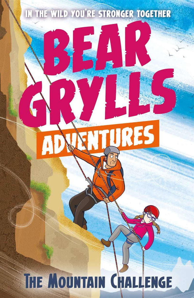 Bear Grylls The Mountain Challenge Paperback Book