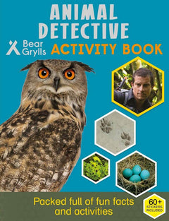 Animal Detective Activity Book