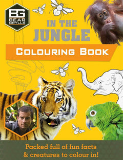 In the Jungle Colouring Book