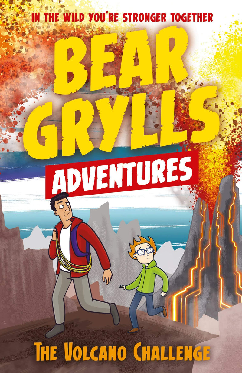 Bear Grylls The Volcano Challenge Adobe Digital Edition Book