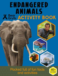 Endangered Animals Activity Book
