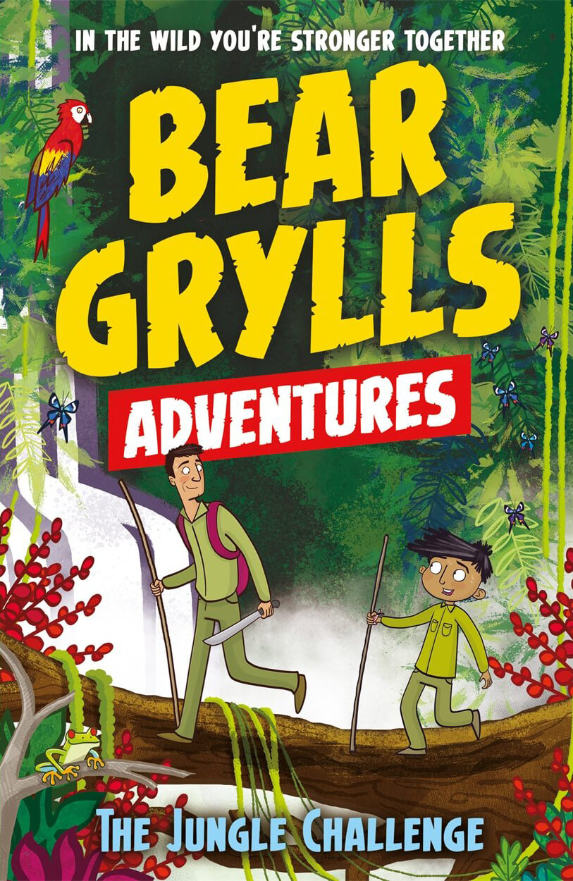 Bear Grylls Dangerous Animals Activity Book