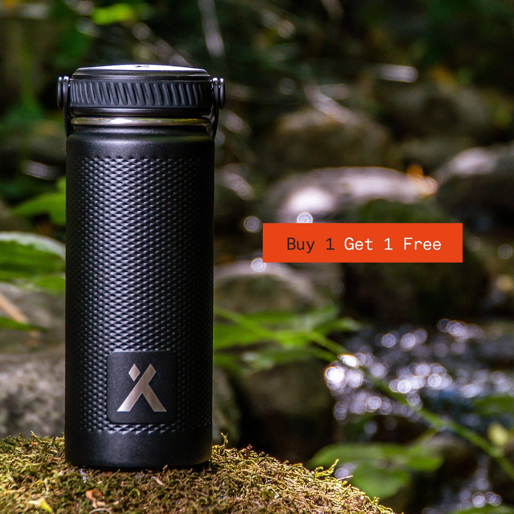 2 for 1 Insulated Water Bottle Bear Grylls