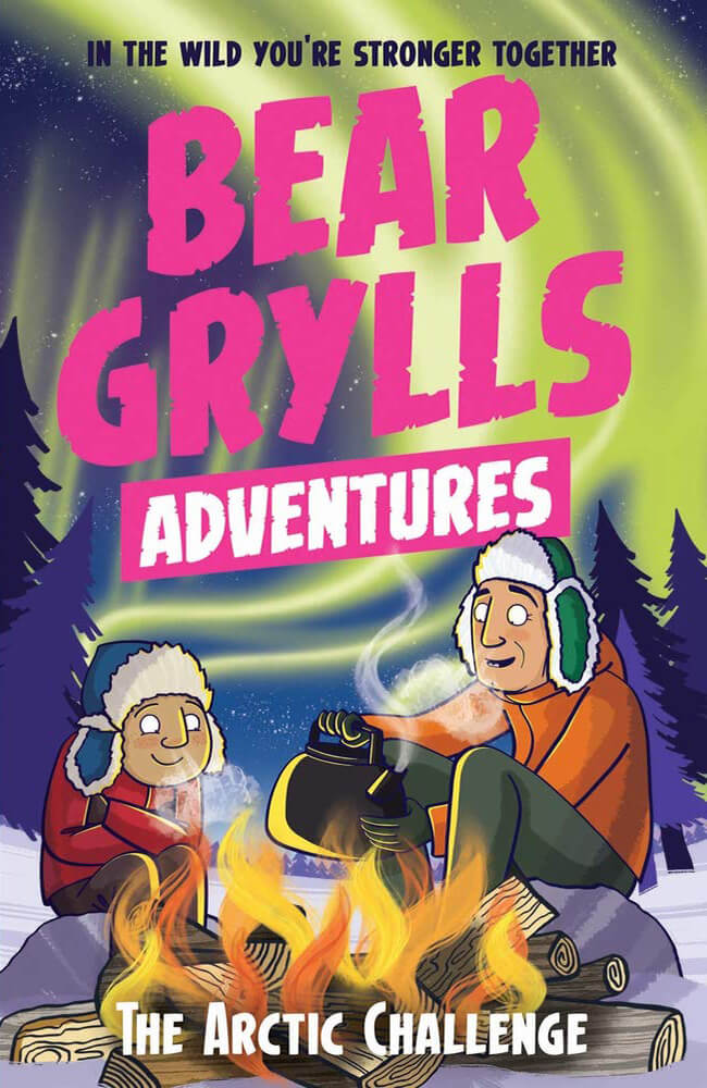 Bear Grylls In The Jungle Colouring Book
