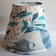 Deep Sea Tapered Lampshade