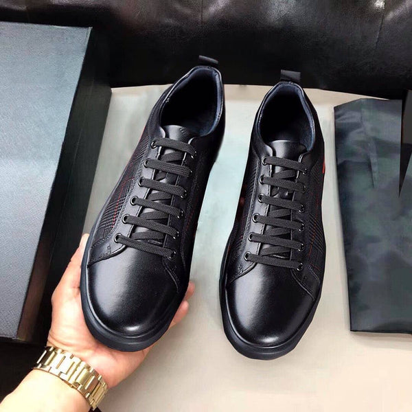 LEATHER FASHION SNEAKERS
