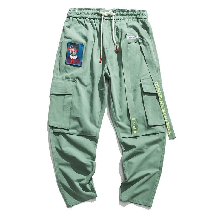"""NOT ALLOWED IN"" CARGO PANTS (3 colors)"