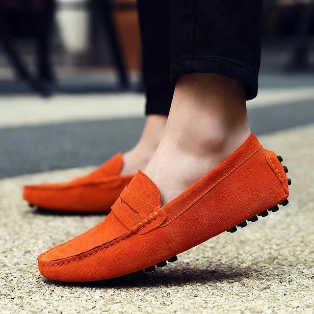 COMFORTABLE LEATHER MOCCASINS (8 colors)