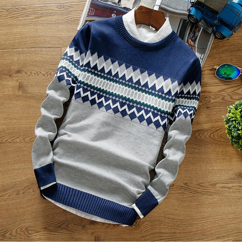 PATTERNED SWEATER (4 colors)
