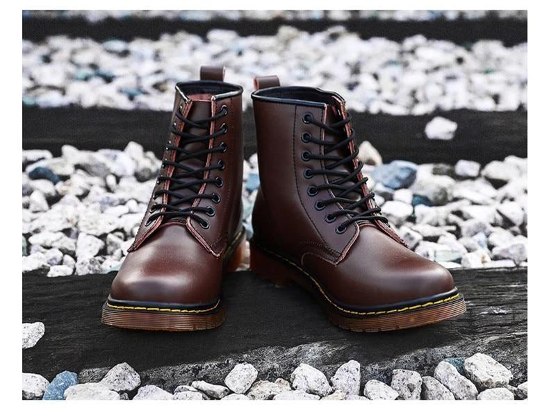 LEATHER HIGH BOOTS (3 colors)