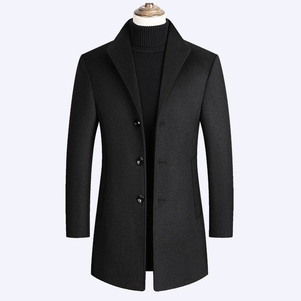 CASHMERE ELEGANT COAT (5 colors)