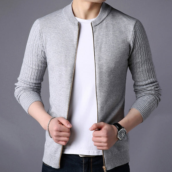 SLIM KNITWEAR CARDIGAN (5 colors)