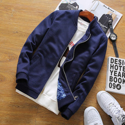 CASUAL BOMBER JACKET (2 colors)