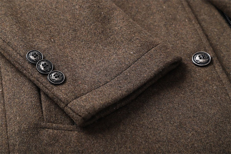 WARM WOOL COAT (4 colors)