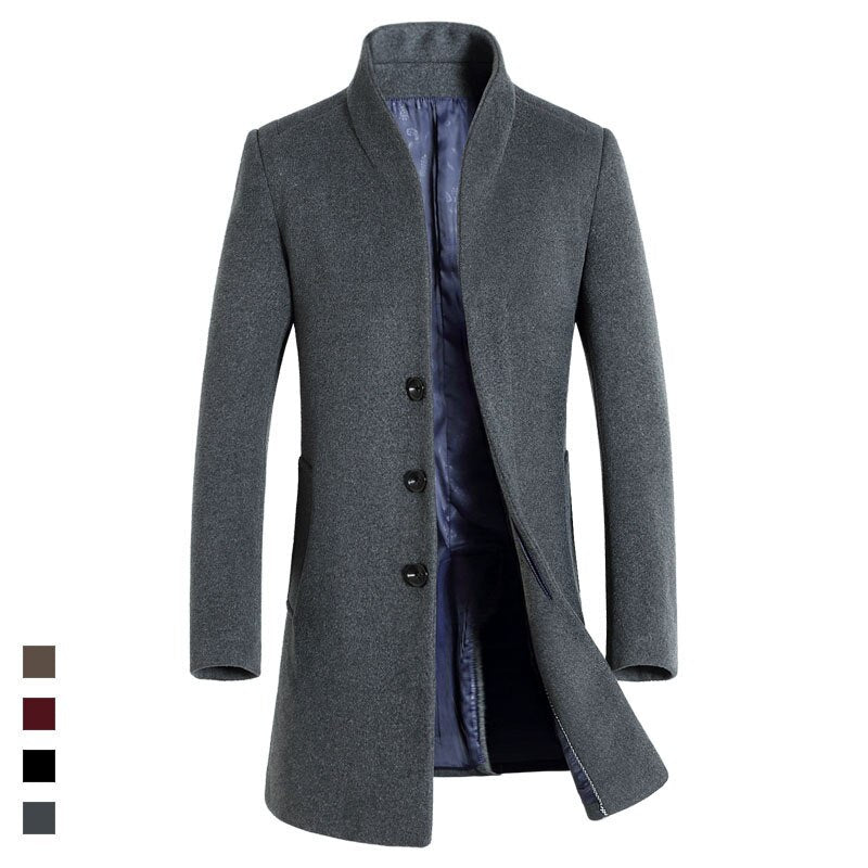 WARM CASUAL COAT (5 colors)
