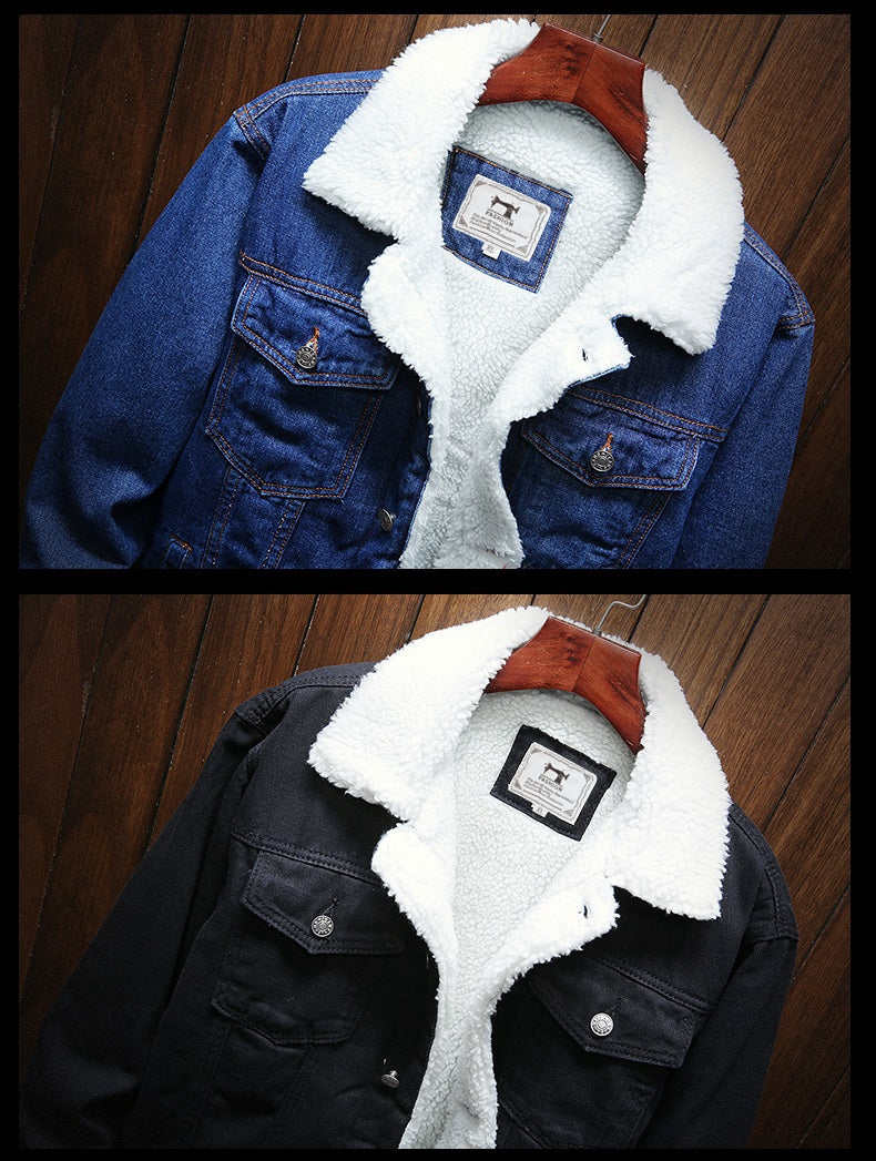 WARM DENIM JACKET (3 colors)