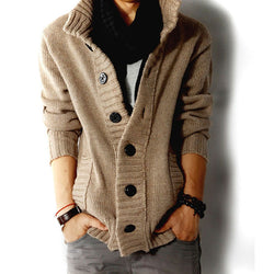 KNITTED CARDIGAN SWEATER (3 colors)