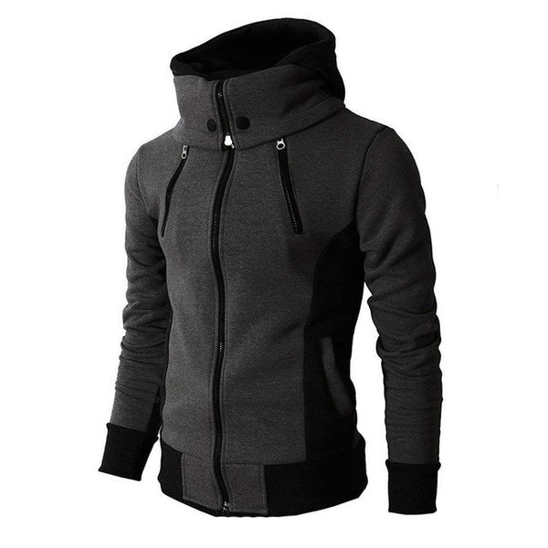 WARM ZIPPER HOODIE (3 colors)