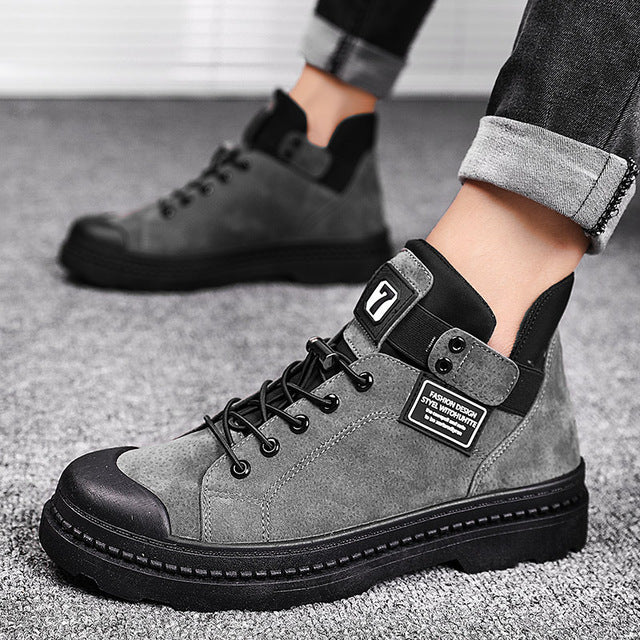 CASUAL ANKLE SNEAKERS (3 colors)